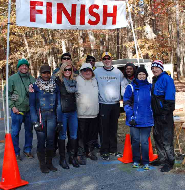 Jingle Bell 5K volunteers, November 2014