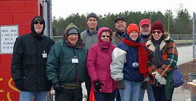 Gloucester 5 Mile volunteers, February 2015
