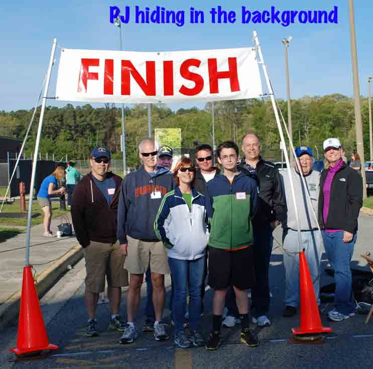 Tabb 5k, May 2014, volunteers