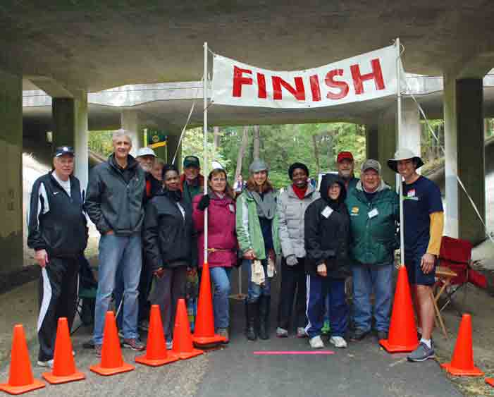 Battlefield 10 Miler Volunteers, November 2014